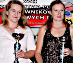 Wicemistrzynie Polski w ratownictwie drogowym PZM 2018 Weronika Czerwińskia i Karolina Sadlej-Zdun