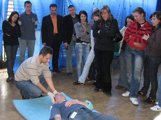 foto -III Powiatowy Konkurs Pierwszej Pomocy