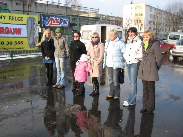foto -Brunetki, Blondynki z Automobilklubem Mieleckim