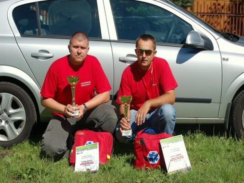 foto -Mielczanie zwycięzcami zawodów ratownictwa przedmedycznego