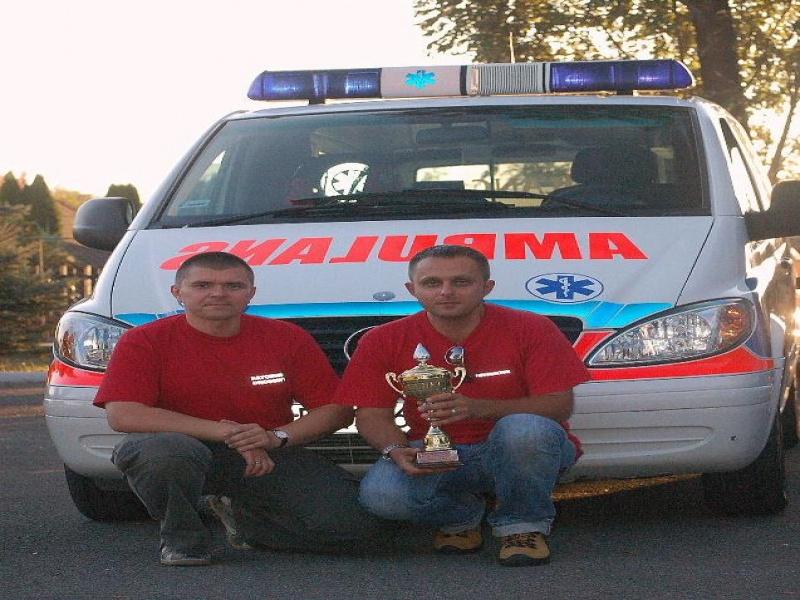 foto -Mieleccy ratownicy drogowi w czołówce Podkarpacia
