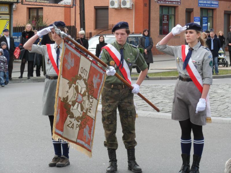 foto -Święto Niepodległości świętem jedności Mielczan.