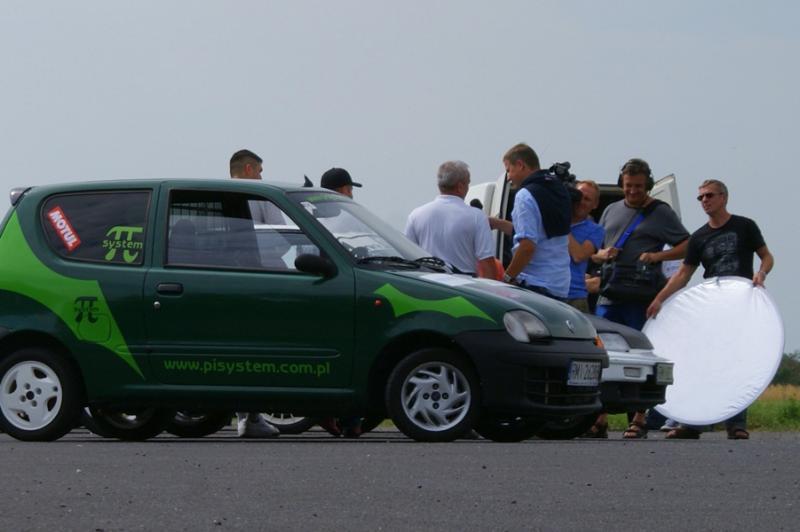 foto -Automobilklub Mielecki w obiektywach kamer TVP Rzeszów.