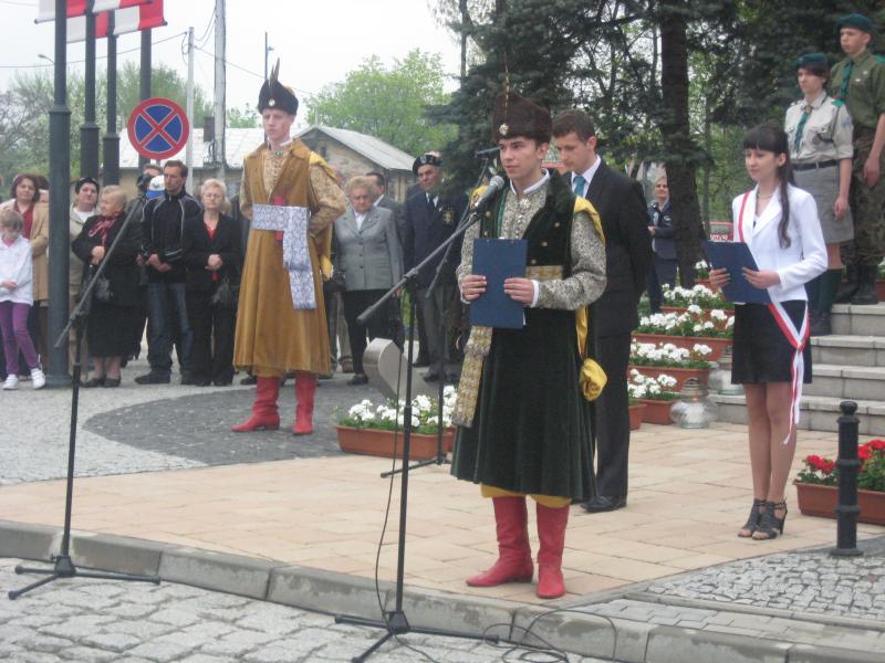 foto -Święto Konstytucji świętem społeczności mieleckiej.