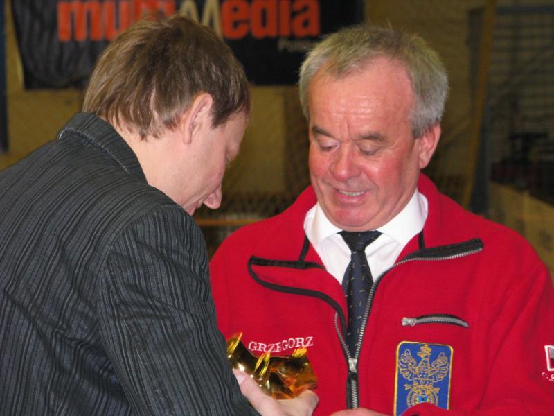 foto -Pozytywny Mielczanin 2012 Prezes AM Grzegorz Stryjski