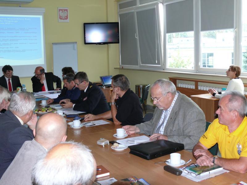 foto -Podkarpacka Wojewódzka Rada Bezpieczeństwa Ruchu Drogowego z udziałem Automobilklubu Mieleckiego.