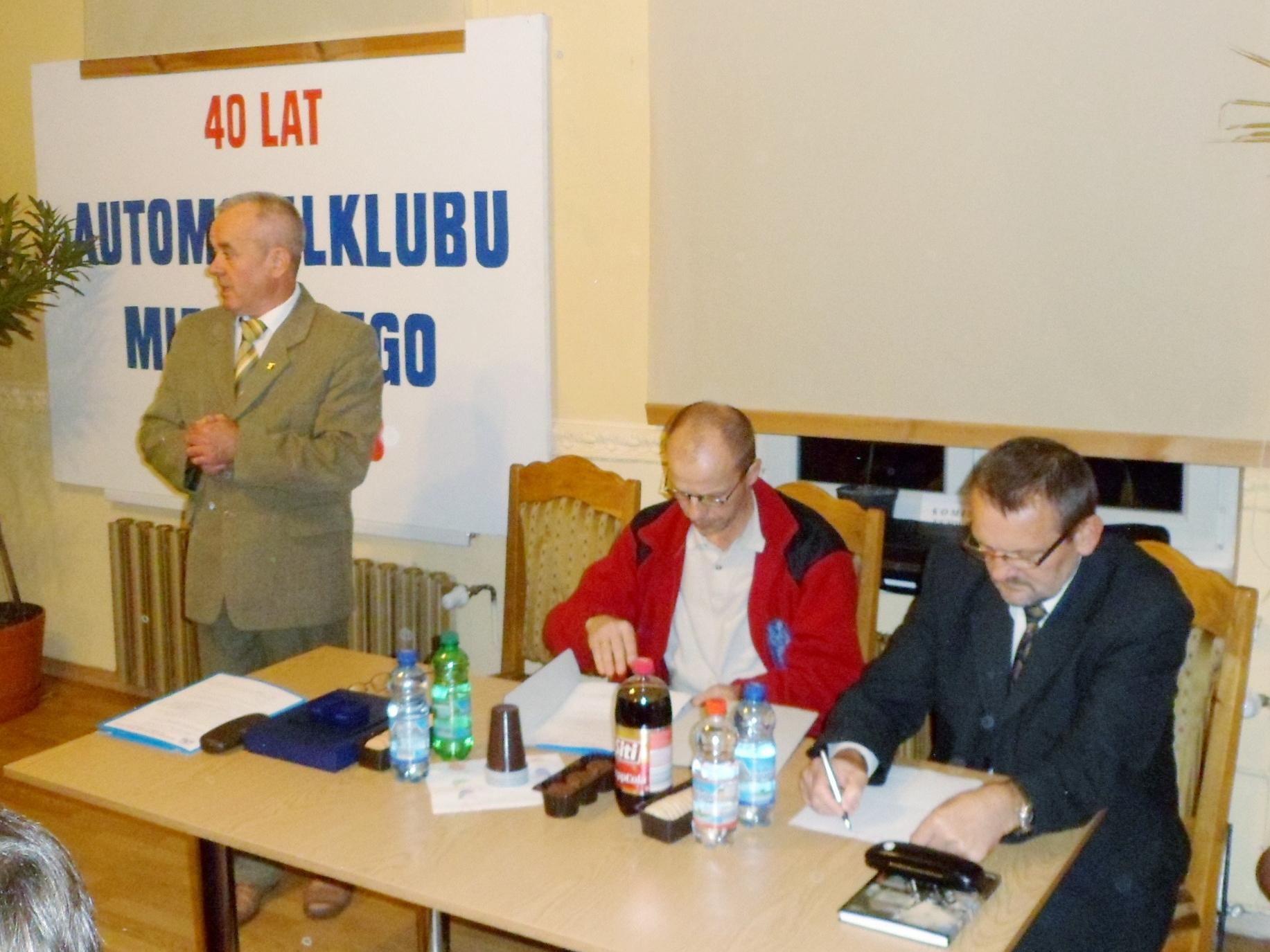 foto -Walne Zebranie Wyborcze Automobilklubu Mieleckiego