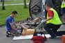 foto artykuł - II Runda Mistrzostw Podkarpacia Ratowników Drogowych PZM - zawody przedmedycznego ratownictwa drogow