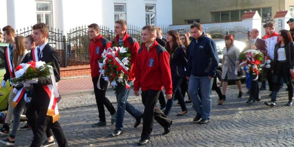 Biało - czerwony Dzień Niepodległości.