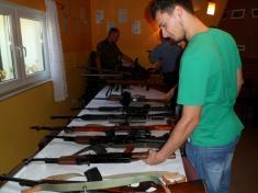 Fotografia do artykułu Piknik strzelecki na mieleckiej strzelnicy LOK.