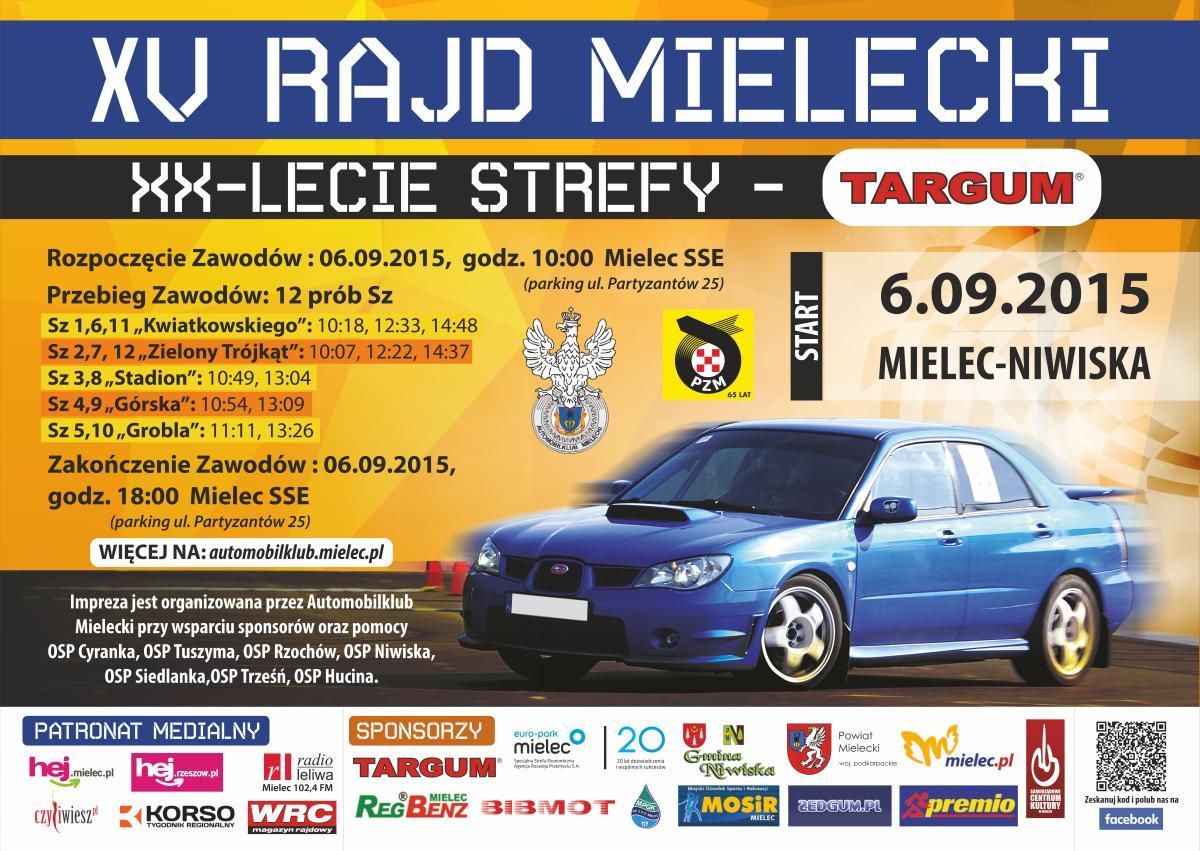 foto -15 Rajd Mielecki XX lecie strefy - TARGUM