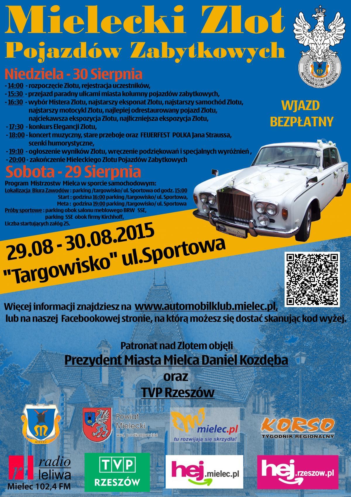 foto -Samochodowe Mistrzostwa Mielca i V Zlot Pojazdów Zabytkowych.