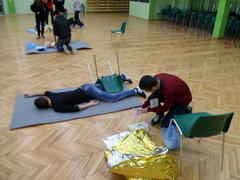 foto artykuł - V Powiatowa Olimpiada Pierwszej Pomocy.