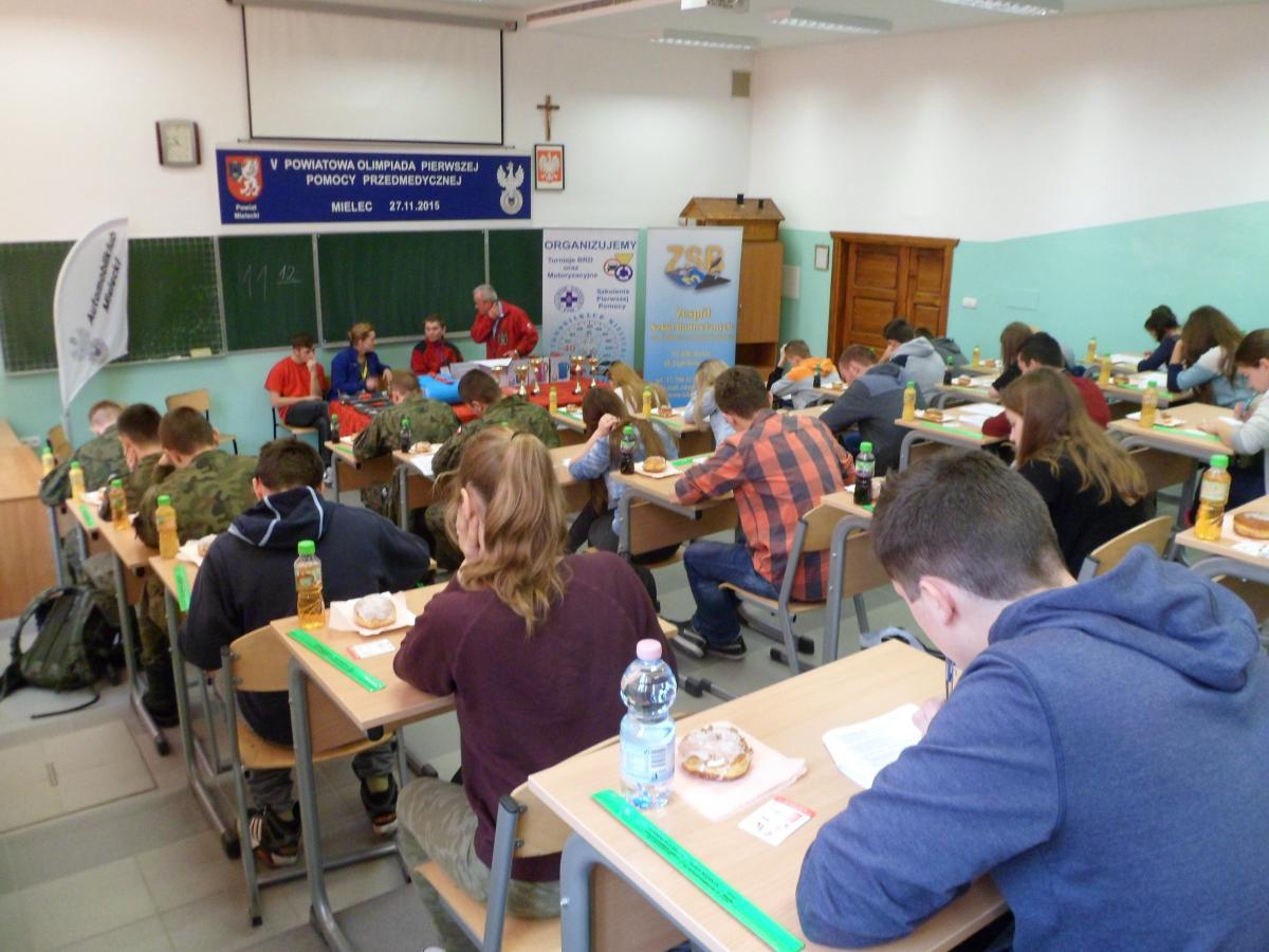foto -V Powiatowa Olimpiada Pierwszej Pomocy.