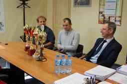 foto artykuł - Wicemistrzowie Polski z wizytą u Prezydenta Miasta