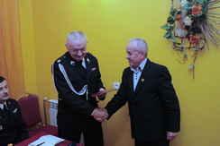 foto artykuł - Walne Zebranie sprawozdawczo – wyborcze Ochotniczej Straży Pożarnej w Tuszymie.