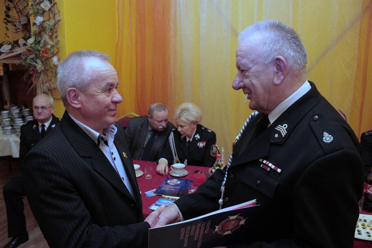 foto -Walne Zebranie sprawozdawczo – wyborcze Ochotniczej Straży Pożarnej w Tuszymie.