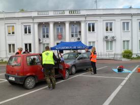 Fotografia do artykułu Zlot Ratowników Drogowych. I Runda Mistrzostw Podkarpacia w Ratownictwie Drogowym PZM Mielc 2016