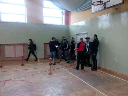 foto artykuł - Drużyna Gimnazjum z Przecławia trzecią drużyną Finału Wojewódzkiego BRD.