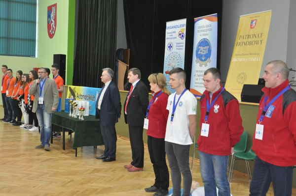 foto artykuł - Powiatowy konkurs - Pierwszej  Pomocy Przedmedycznej Szkół Gimnazjalnych 2017