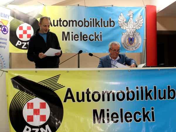 foto -Walne Zebranie Sprawozdawcze Automobilklubu Mieleckiego i absolutorium dla Zarządu Klubu.