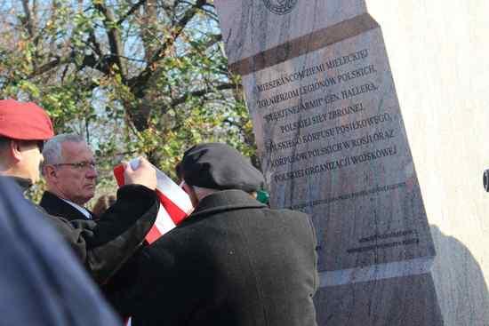 foto artykuł - Wspólne Mielczan świętowanie. 100 lat odzyskania Niepodległości.