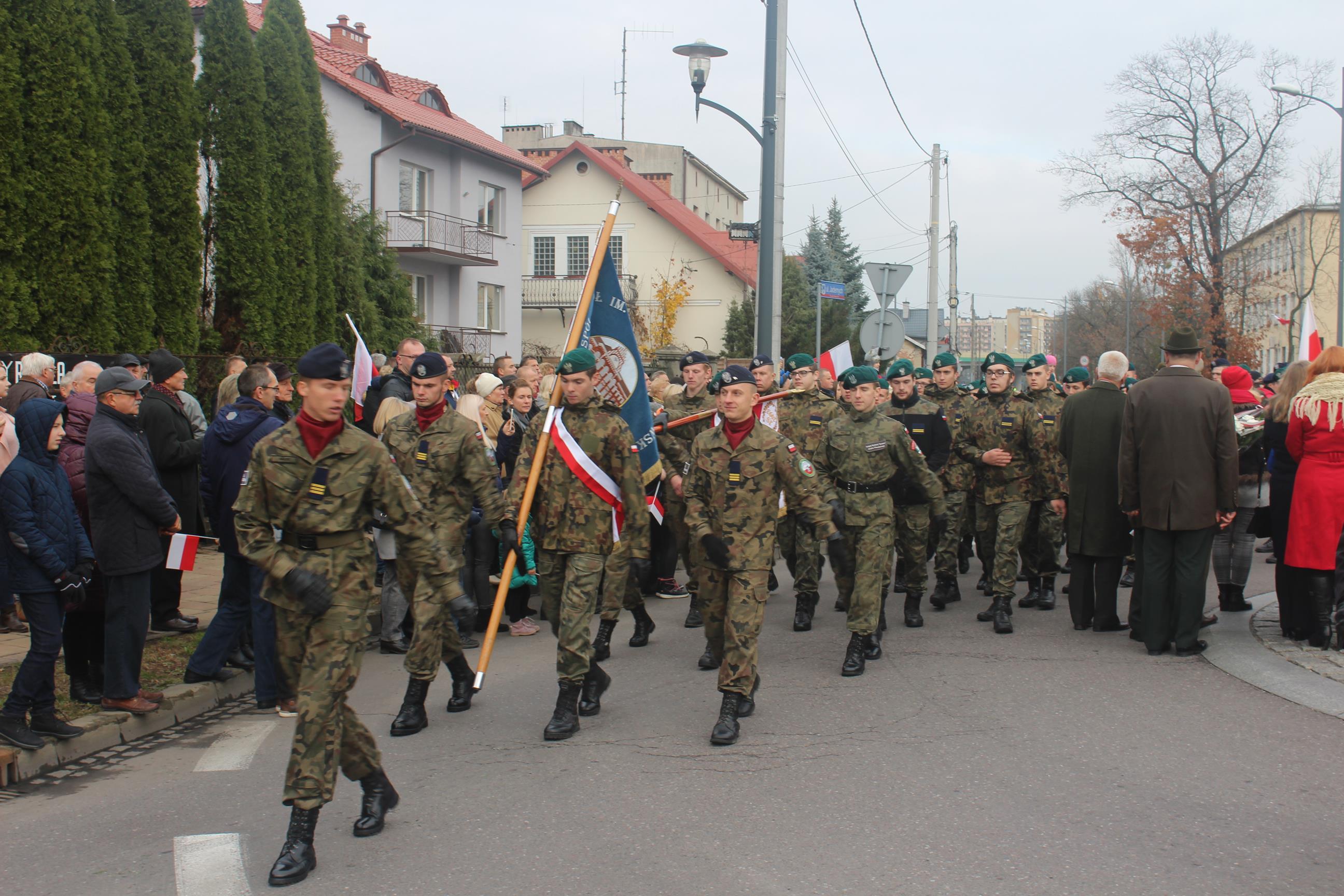 foto -101 rocznica odzyskania naszej Niepodległości.