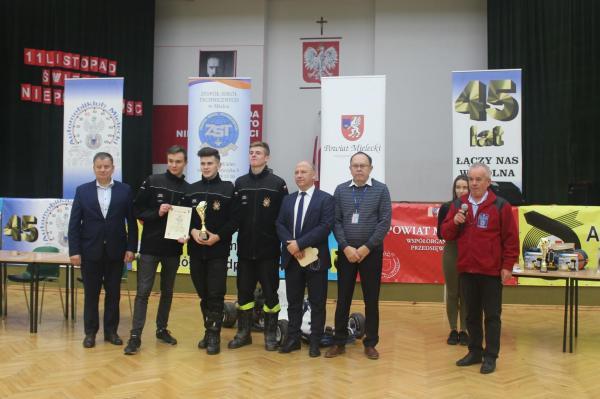 foto -Finał VIII Powiatowej Olimpiady Pierwszej Pomocy Przedmedycznej w szkołach  ponadpodstawowych.