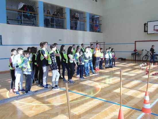 foto artykuł - Ruszyły eliminacje szkolne Turnieju Bezpieczeństwa Ruchu Drogowego w mieście i Powiecie Mieleckim.