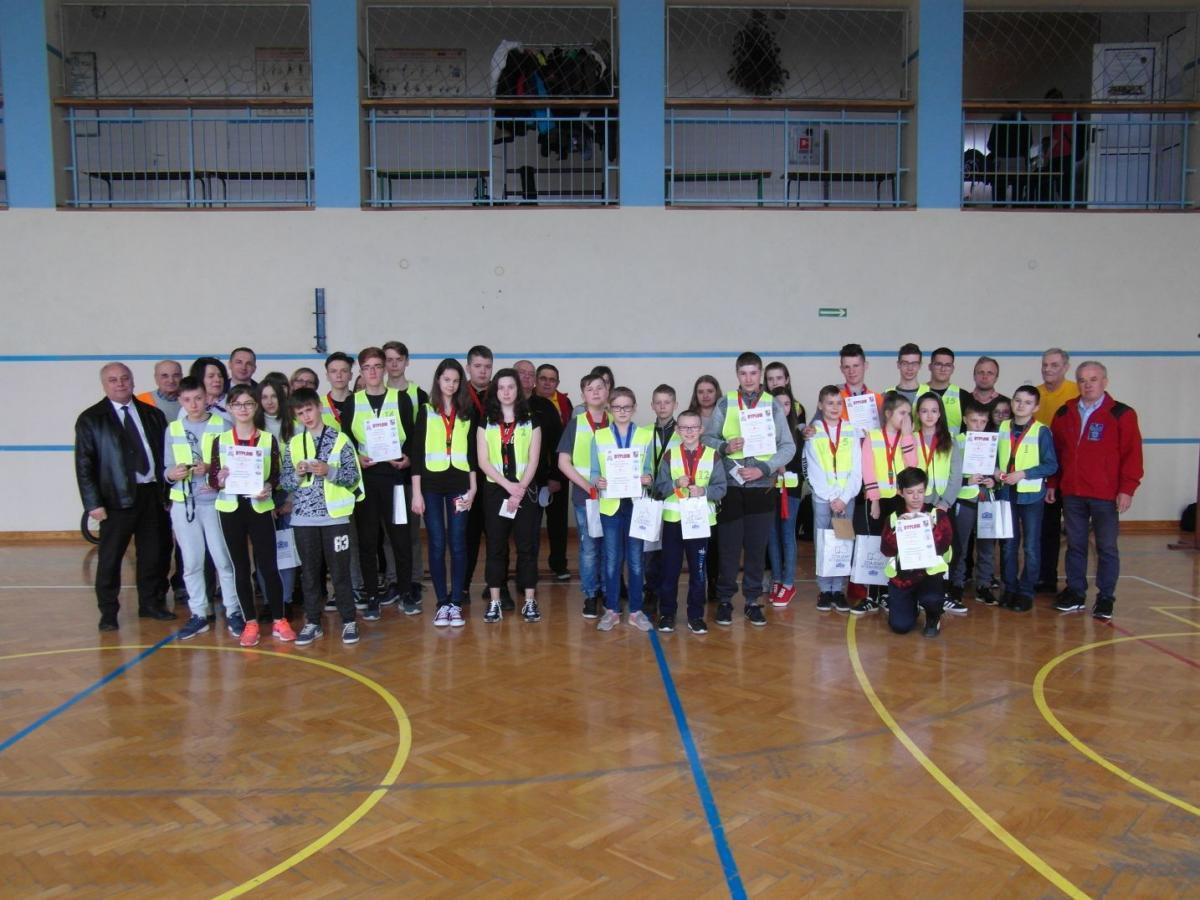 foto -Ruszyły eliminacje szkolne Turnieju Bezpieczeństwa Ruchu Drogowego w mieście i Powiecie Mieleckim.