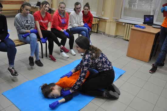 foto artykuł - XII edycja Zimowej Szkoły Pierwszej Pomocy w ZST