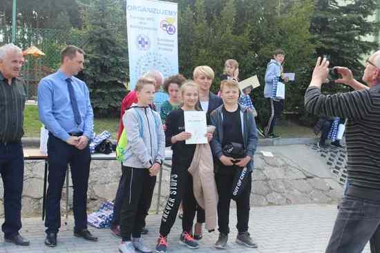 foto artykuł - Uczniowie Szkoły Podstawowej w Przecławiu najlepszą drużyną Powiatowego Turnieju  BRD.