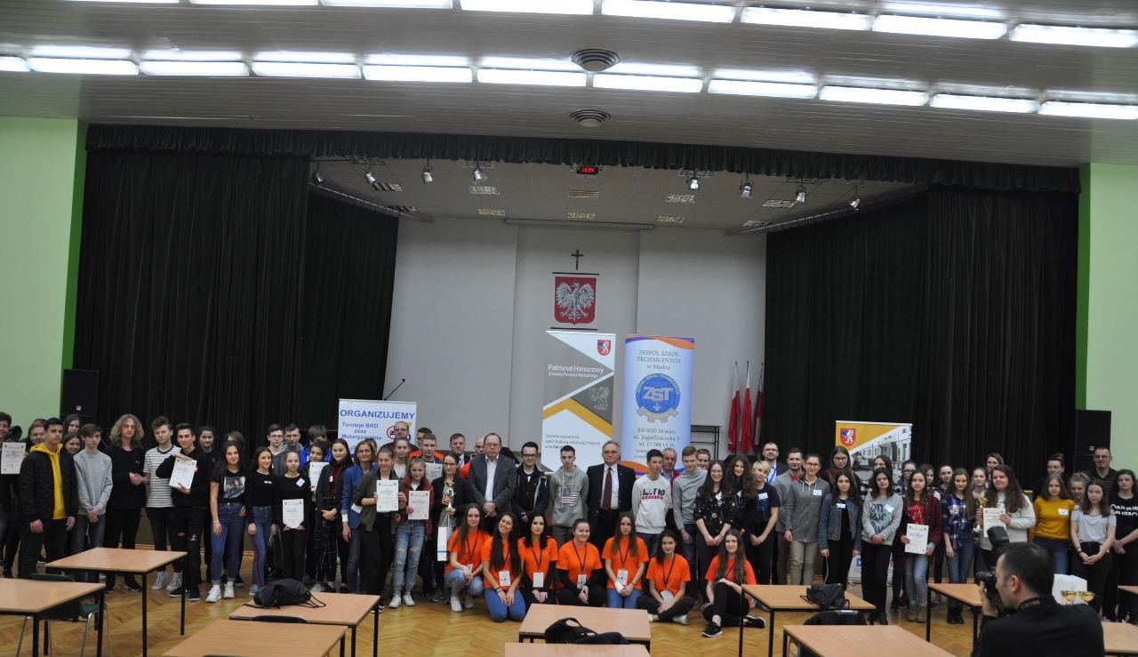 foto -AM współorganizatorem Powiatowego Konkursu Pierwszej Pomocy Przedmedycznej 2019
