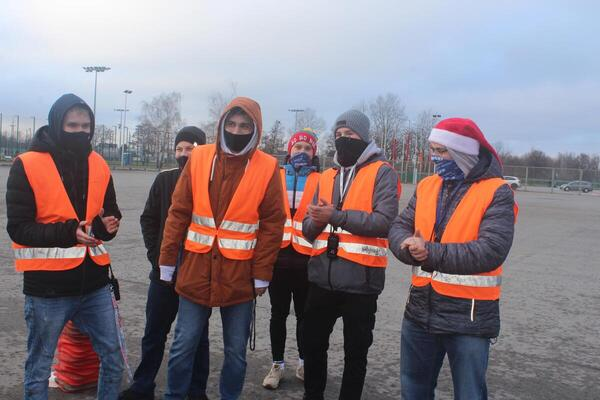 foto artykuł - Mikołajkowe współzawodnictwo rowerowe dzieci i młodzieży.