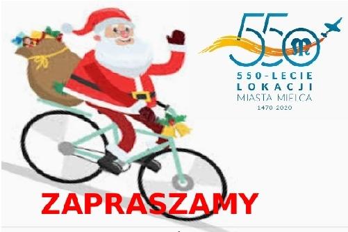 foto -Współzawodnictwo rowerowe dla dzieci szkolnych.