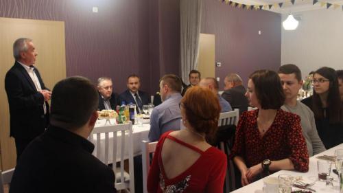 foto -Noworoczne spotkanie Automobilklubu Mieleckiego.
