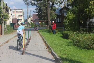 foto artykuł - Współzawodnictwo rowerowe BRD w Rzochowie