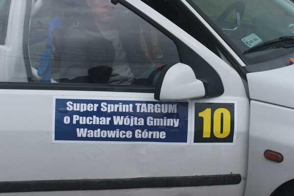 foto -I Mielecki Super Sprint TARGUM o Puchar Wójta Gminy Wadowice Górne dojechał do mety.
