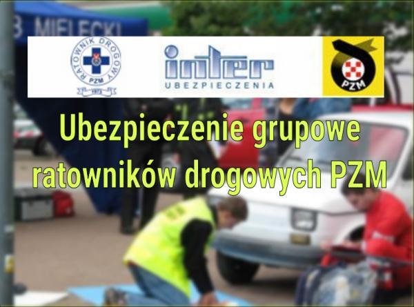 foto -Ubezpieczenie grupowe ratowników drogowych PZM